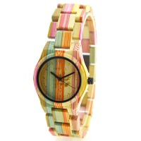 105DL-2C Wooden watch