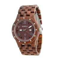 109A-R Wooden Watch