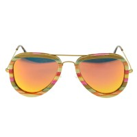 G020A-C Wooden sunglasses
